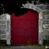 古い倉庫の扉01