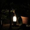 庭のランプ