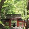 新緑の貴船神社
