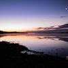 ウトナイ湖夜明け前