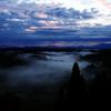 朝焼けか雲海か