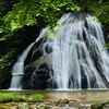 新緑片鞍滝 2