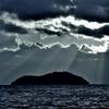 竹生島光芒