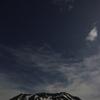霊峰立山と星