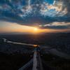 岐阜城の夕暮れ2
