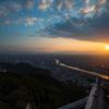 岐阜城の夕暮れ3