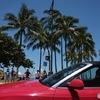 赤い車が似合う街