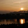 錦桜橋の夕景