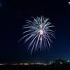 月に星にそして花火と夜景~芦屋サマーカーニバル花火①