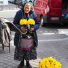 花売りの老婆