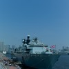 イギリス海軍の揚陸艦 アルビオン (補機Ver.)