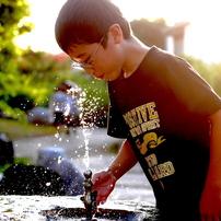 写真句:少年の夏