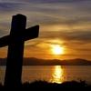 夕日の十字