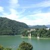 赤谷湖と秋の空 その1
