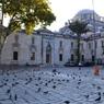 Beyazıt Camii_01 早朝のモスクと広場