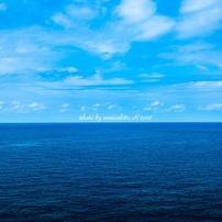 海は青かった