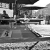 小島のレストラン2