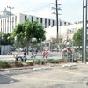 残暑の町 LA  CA