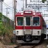 田原本線を走る近鉄8400系