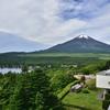 富士山雪化粧だそうです(^o^)
