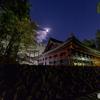 日光社寺の夜景