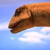 恐竜と青空