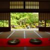妙満寺・雪の庭2