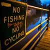 No fishing, No cycling