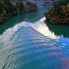 秋の庄川峡