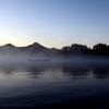 黎明の桧原と磐梯