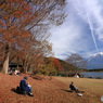 湖畔のひと時