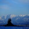 剱岳と女岩