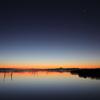 印旛沼・朝景 - 明けの明星とともに -