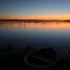 印旛沼・朝景 - 静寂の中に佇む -