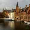 運河のある風景..#1