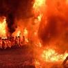 奇祭『勝部の火まつり』②