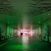 緑の地下道