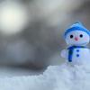 雪景色と氷
