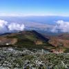 庄内平野と鳥海山