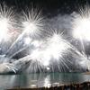 日本の風景 和歌山県田辺市花火大会2018