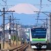 横浜線の朝 ①