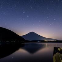 田貫湖の夜空