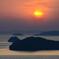 日没と島影