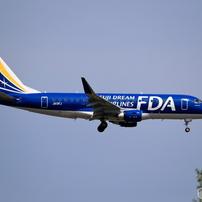 ホヌ1号機が来た日に 新千歳空港19Rエンド FDA