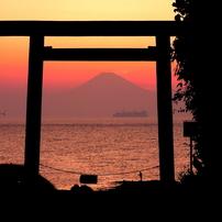 洲崎神社浜の鳥居
