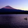 2010 11 06 河口湖の夕暮れ RB67