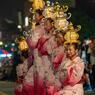 山鹿 山鹿千人灯籠踊り (保存会の皆様)