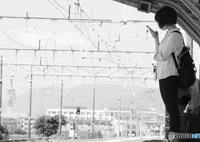 電車待ち(何処へ?)