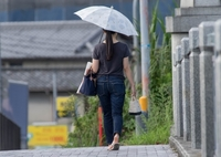 1㎡の涼‥日傘