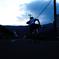 朝サイクリング。GO!